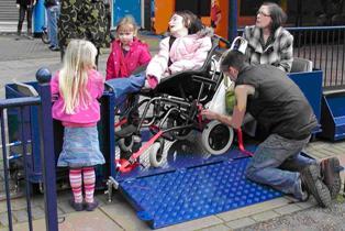 Wheelchair Carriage
