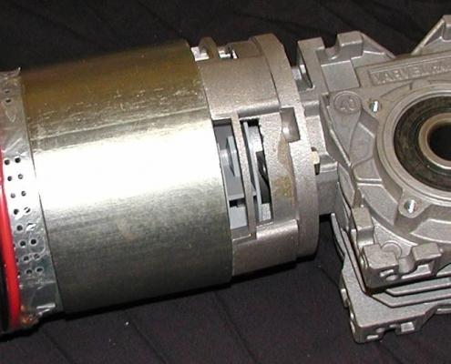 740 Watt Motor and Gearbox